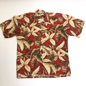 Pierre Cardin Vintage Men's Hawaiian Shirt